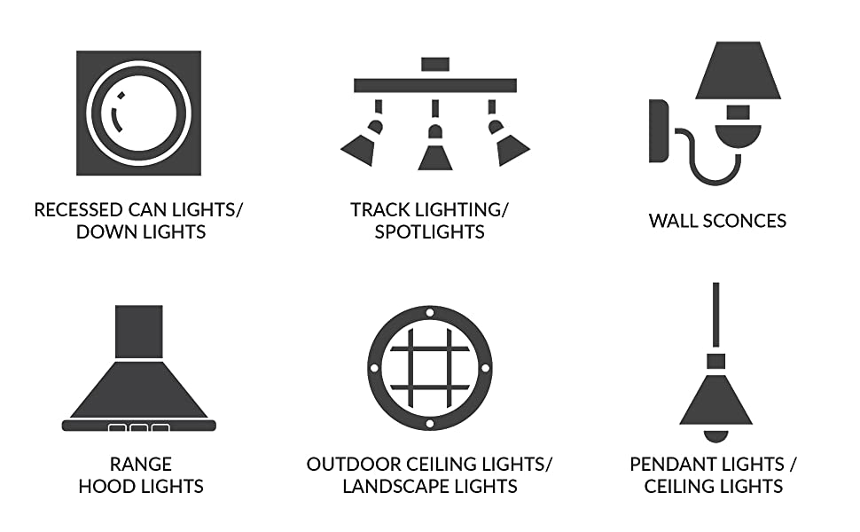 halogen par20 par 20 applications recessed down track spotlight range hood landscape ceiling wall
