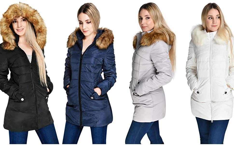 womens down coat winter coat