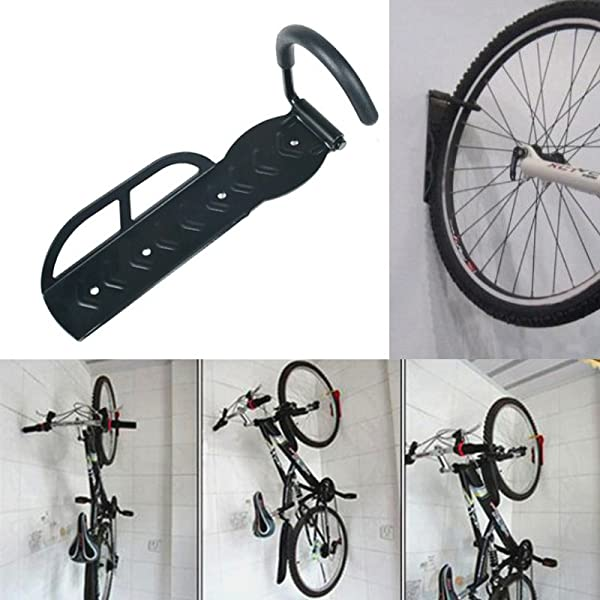 Amazon.com : Altruism Bike Wall Rack Black Hanger With