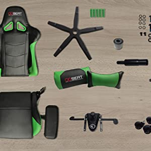 Amazon.com: Silla Gamer para PC OPSEAT Master Serie 2018 ...