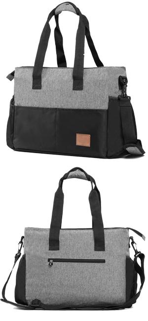 BREAST PUMP TOTE BAG, DIAPER BAG ORGANIZER WITH INSULATED BREASTMILK COOLER  BAG