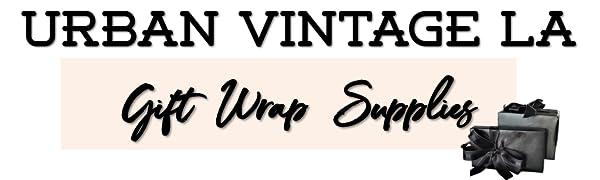 Urban Vintage LA Gift Wrap Supplies