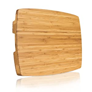 Premium Bamboo Thick Cutting Board 18
