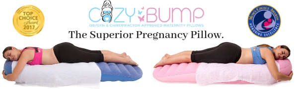 Cozy Bump pregnancy pillow cosy maternity bed inflatable mattress air bed raft