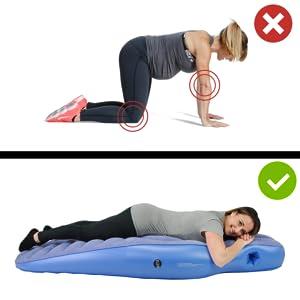 pregnancy pillow back pain relieve
