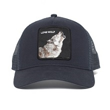 Animal Farm, Goorin Trucker, Goorin Bros, Wolf Hat, Baseball, Wolf Trucker