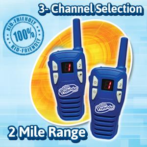 kid friendly walkie talkie