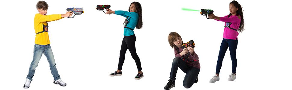 laser tag guns and vests laser battle lazer tag