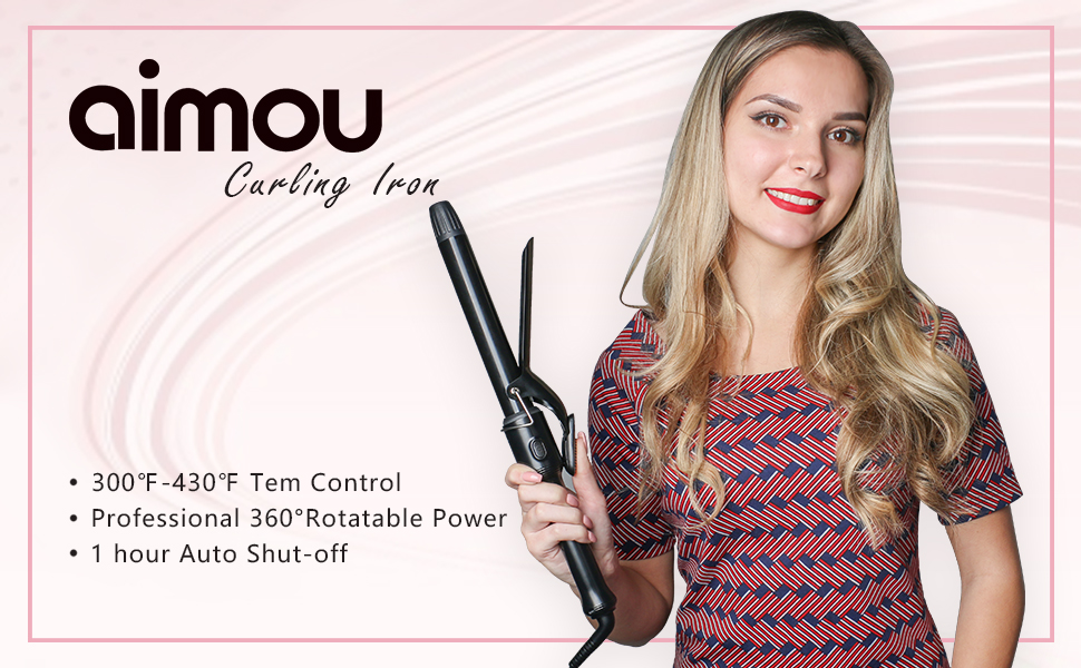 aimou curling iron