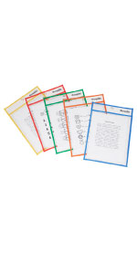 dry erase pockets