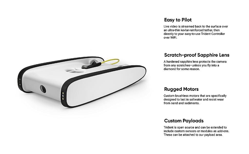 Amazon.com: Trident Drone Accesorios: Electronics