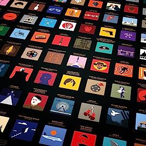 100 unique movie icons