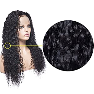 best quality 360 full lace wig wavy 8a 9a human hair