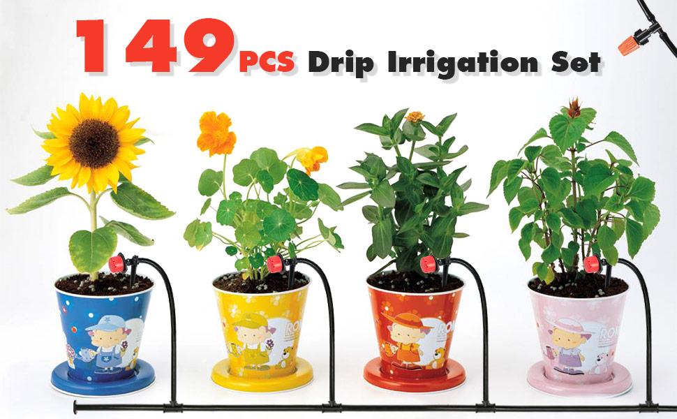 Garden Automatic Drip Irrigation Set1BQ