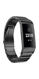 Fitbit Charge 3 /3 SE Bands Stainless Steel