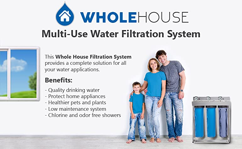 Benefits of Whole House Water Filtration System