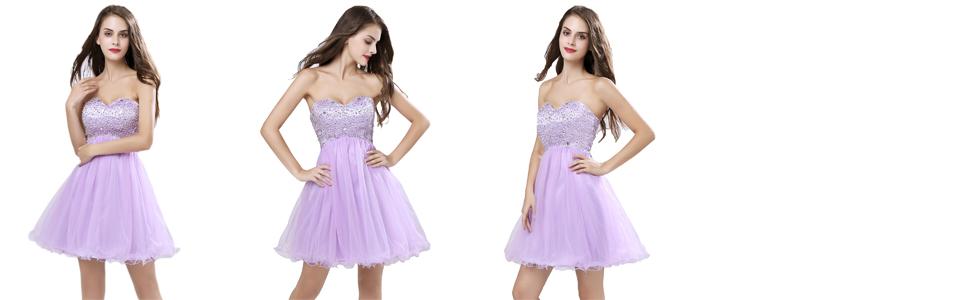 Elegant Homecoming Dress