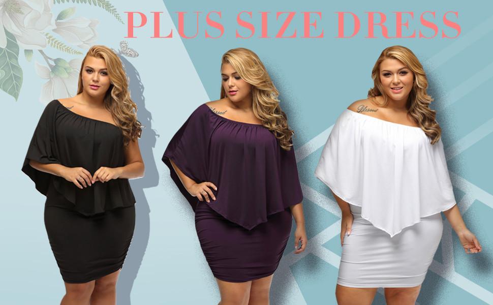 Sexy Plus Size Cocktail Dresses