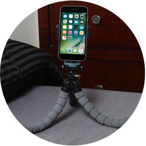 cell phone tripod
