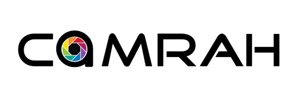 CamRah Logo for Cell Phone Tripod and lenses