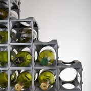 Stakrax - Stackable, Modular Wine Rack - 12 Bottle Set