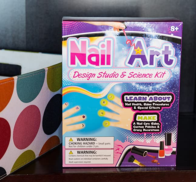 Amazon.com: Mani-Pedi Spa Nail Polish Kit for 4 or More - create ...