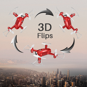 3D FLIPS AND ROLLS