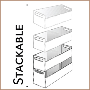 Stock Your Home Chocolate Stacking CD Tray And Media Storage Box For CD  Shelf Storage And Organization, Holds 40 CDs