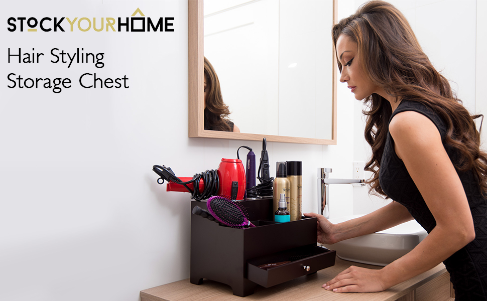 Amazon Com Stock Your Home Hair Care Organizer For Use As A Hair