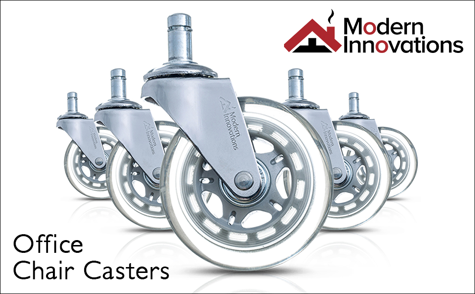 Amazoncom Modern Innovations 3 Office Chair Casters Set of 5