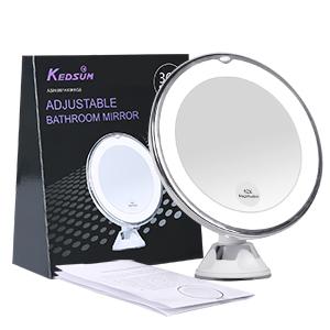 Amazon KEDSUM 68 10x Magnifying LED Lighted Makeup Mirror