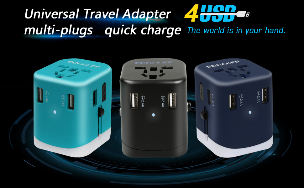 Universal Travel Adapter Power Converters
