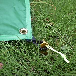 Waterproof Hammock Rain Fly Tent Tarp Footprint C&ing Shelter Ground Cloth Sunshade Mat for Beach & Amazon.com : Geertop Waterproof Ultralight Camping Tarp ...