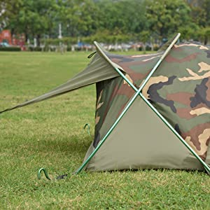 Ultralight Compact Single 1 Person Waterproof Bivy I Tent Backpacking Camping Military