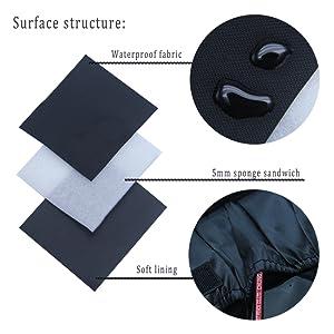 Cosmetic case fabric