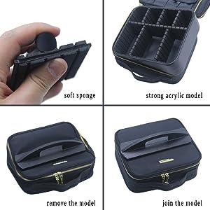 Cosmetic case bracket