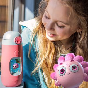 Interactive water bottle for kids