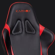 Surprising Karnox Hero X Red Black Racing Style Gaming Office Chair With Adjustable Height And Armrests Ergonomic 1700 Reclining Locking High Back With Gmtry Best Dining Table And Chair Ideas Images Gmtryco