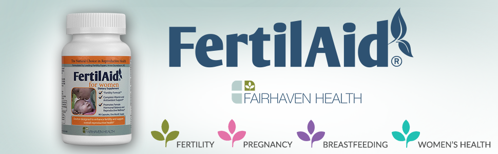 FertilAid for Women: Natural Fertility Support to Aid Conception, Promote  Cycle Regularity