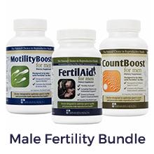 FertilAid, CountBoost, Motility Boost, male fertility bundle