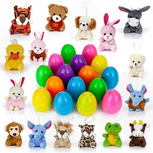 Amazon.com: YIHONG 16 Juguetes Relleno Surprise Huevos de ...