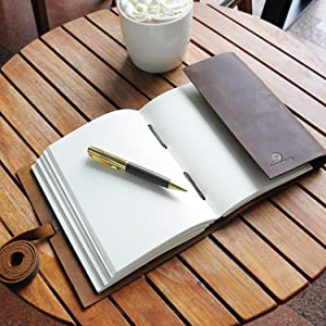leather embossed tree of life diary for women teen diary travel notebook for business women men