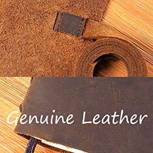 leather journal hidden penholder rustic leather record thoughts daily diary authentic look
