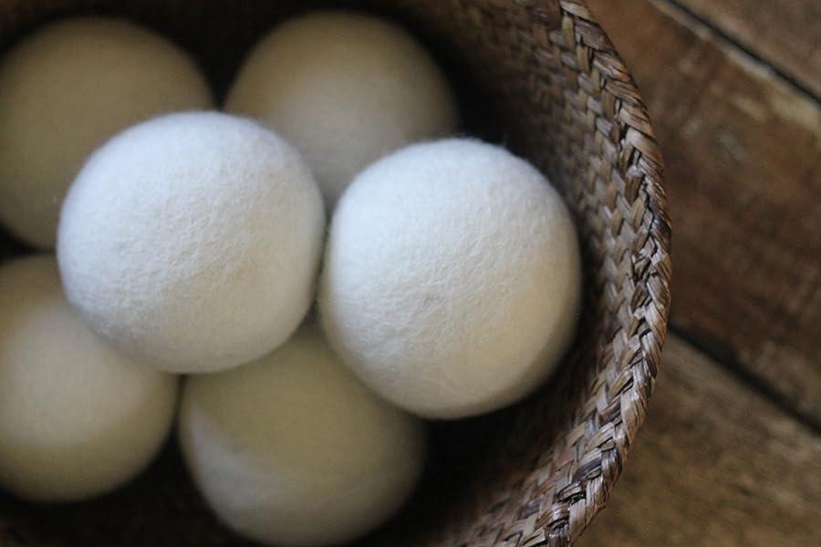 100%纯天然羊毛干衣球 可重复使用上千次