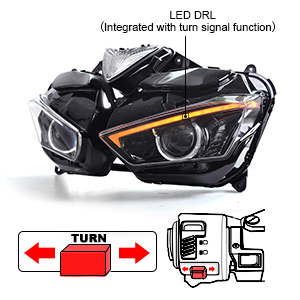 Amazon.com: KT Fit for Yamaha R3 2015-2018 Full LED ...
