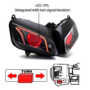 turn signal light of cbr600rr 07-12