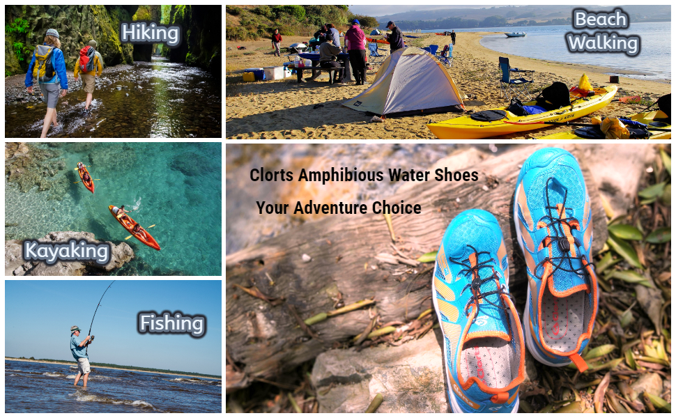 Amazon.com: Clorts para hombre zapatos de agua puntera ...