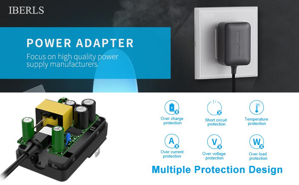 Amazon.com: berls 9 V Casio adaptador de fuente de ...