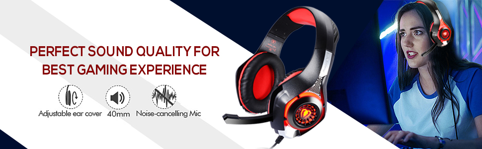 Headphone with Mic for Playstation 4