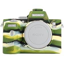 Funda cubierta suave para cámara de lentes intercambiables Sony A9 con e-mount Carcasa de Silicona 9 Mirrorless Cámara Negro